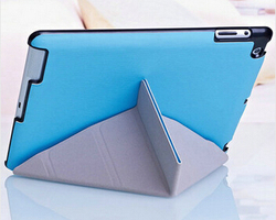 Top Selling Ultra Slim Magnetic Smart Cover Leather Case for Apple iPad ipad mini with Retina Display Pen + Screen Protector