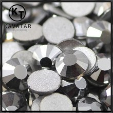 Bling Grey flat back rhinestones for nail art stones for clothes decoration