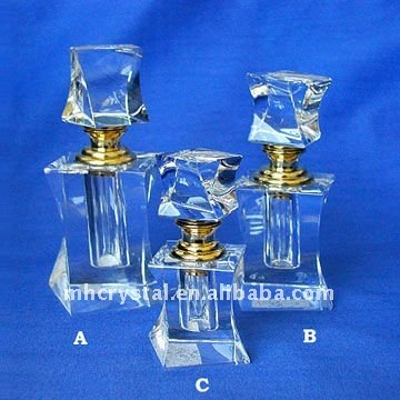 Fashion Crystal perfume bottle ,scent bottle with gift box MH-X0388