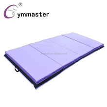 4FT PVC leather epe core 4 folding gymnastics mat with CE and SGS certification