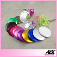 New Design Aluminum Make Up Mirror Compact Pocket Mirror