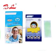 Cooling gel paste fever cooling patch children fever reducing cool gel pad relieve soft gel cooling