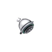 FARLO ABS Plastic chrome 3 Functions Bathroom micro bubble shower head