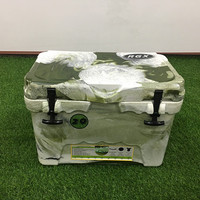 20L Camo Food Storage Cooler Box
