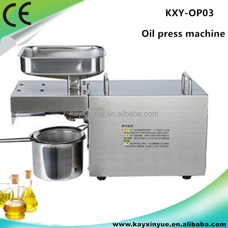 Home used small cold press oil machine /oil expeller/seed oil extraction machine