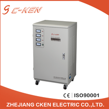 Cken CE Approved SVC 20KVA Three Phase Vertical AC Automatic Voltage Stabilizers , 3 Phase Automatic Voltage Regulator