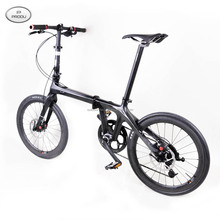 Baolijia 2016 most fashionable folding carbon bike, complete carbon road bike, super light folding bicycle