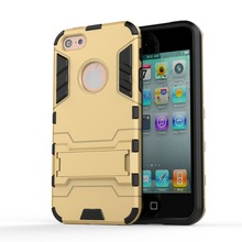 Genuine Shockproof Robot Armor Slim Rugged Rubber Silicone Hard Back Cover For iphone5 5s se 5c 6 6s 7 7s plus