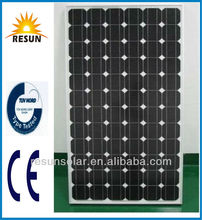 hot sale 130w mono crystalline silicon solar panel from professional chinese factory