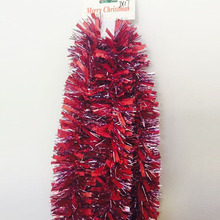 Cheap Rich Color Popular Design Thick Promotional Christmas Tree Tinsel