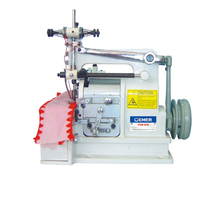 promotional price small shell stitch overlock overedging sewing machine