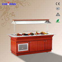 restaurant buffet cold food displayes guangzhou manufacture