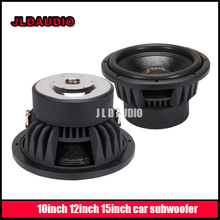 JLD AUDIO 10 inch subwoofer with dual 2ohms 800RMS car subwoofer