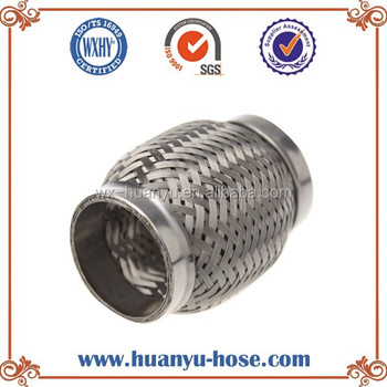 double layers duct connector exhaust flex hose
