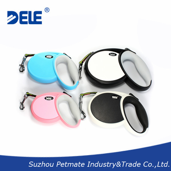 New style high quality 4Meter retractable Dog Leash with CE certificate