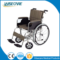 Foshan Aluminum Folding light weight Wheel chair for the Handicapped