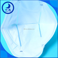 High quality disposable protective medical paper face mask with tie on