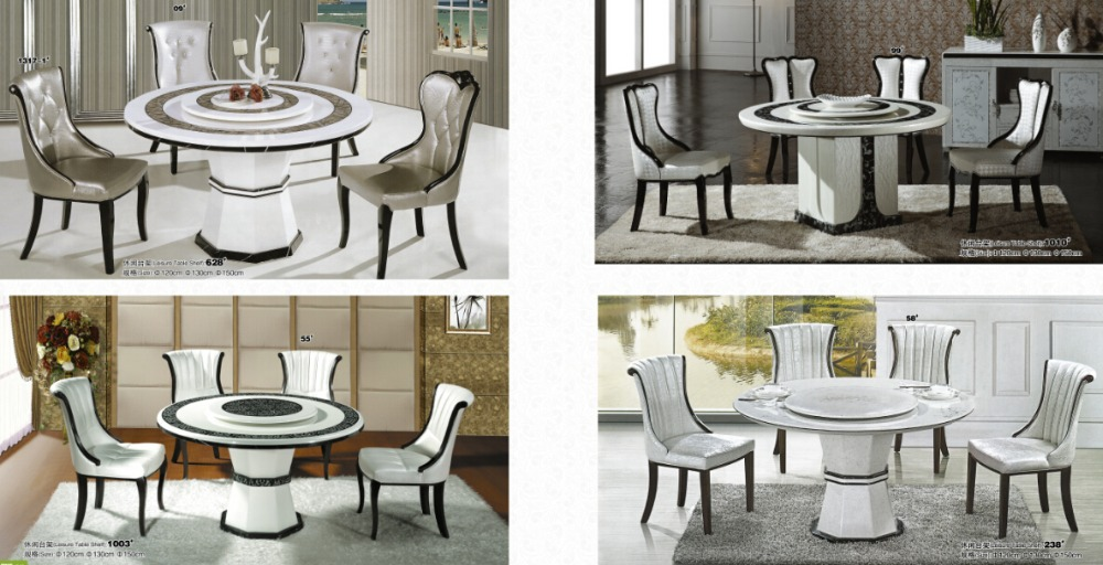 Marble Dining Table Round Dining Table With Rotating Centre Buy Marble Dini