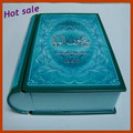 Color printing book shaped tin box