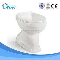 Toilet guangzhou bathroom fitting sanitary ware hand flushing toilet pot