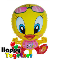 HAPPY TOGETHER wholesale Advertisment Cartoon Inflatable Yelloow Duck Helium Balloon