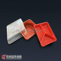 ChengXing brand eco-friendly pp disposable plastic food container