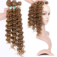 Hot sale fiber deep wave twist crochet braid synthetic hair