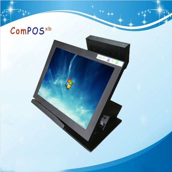 "New product Mini pc 12"" fashion style touch screen all in one"