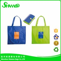 china manufacture promotional folding polyester fabric cheap shopping bags