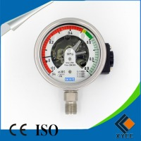 Bourdon tube type pressure gauge/SF6 switchgear