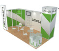3x6 portable booth exhibition stand, design exhibition booth portable from china for trade show system