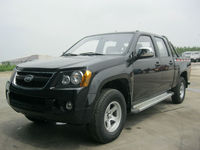 KAMA double cabin pick up truck with TOYOTA engine