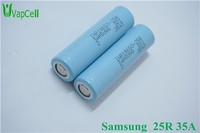 Super quality Samsung Inr18650-25R 2500mAh/35a Discharging Rate Battery,Ncr 18650b. Lg He2. Fyte 35a Battery All In Stock