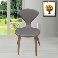 Bentwood dining chair cherner chair with cushion ant chair