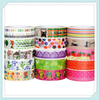 wholesale custom printed washi tape for gift packing/ DIY making/decoration