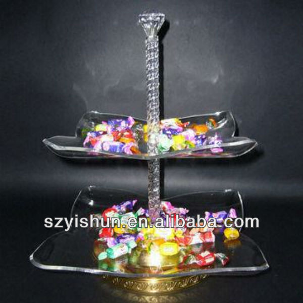 Manufacturing acrylic tray clear acrylic candy tray