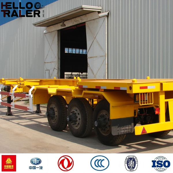 40 Tonnes 3 Axles Container Chassis for Sale