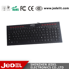 Cheap Internet Cafes Game Suits Computer Keyboards /Wired Gaming Keyboard