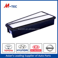 Auto car air filter manufacture 17801-31090 for Toyota by high quality