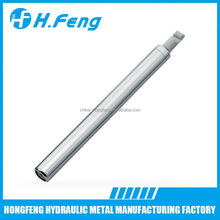 Hydraulic soft close damper for cabinet doors