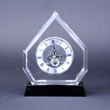 China Alibaba Zhongshan crystal mini clocks for home vill desk decoration