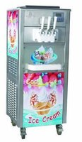 3 flavors soft ice cream machine
