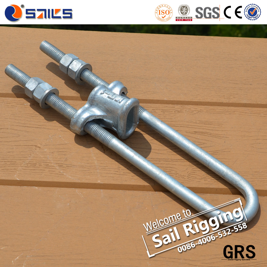 High Tension Steel Forged UT Type Adjustable U Bolts
