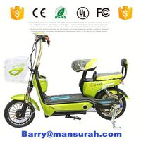 2015 New Model High Quality Best Selling Aluminum Body Kavaki Folding Electric Bicycle