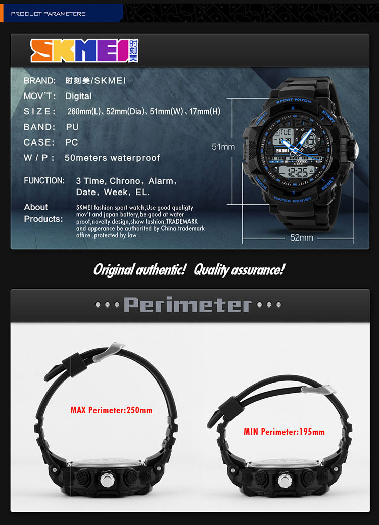 High quality low prices durable japan battery sports wrist watch digital watch