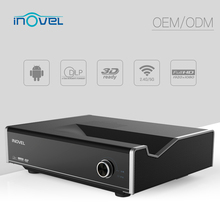 high brightness Daylight Projector, 3700Lumen DLP 1080p full HD 3D Ultra short throw Projector