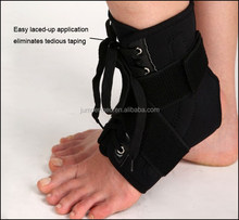 Samderson C1AN-1901 Adjustable Black Easy Wrap Immobilizing Ankle Brace