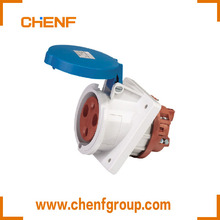CHENF Newly Hot Sale IEC 60309-2 IP44 32A 3P 230V Waterproof Plug Panel Mounted Socket