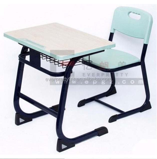 Primary school furniture suppliers School Desk with Single Drawer and Chair