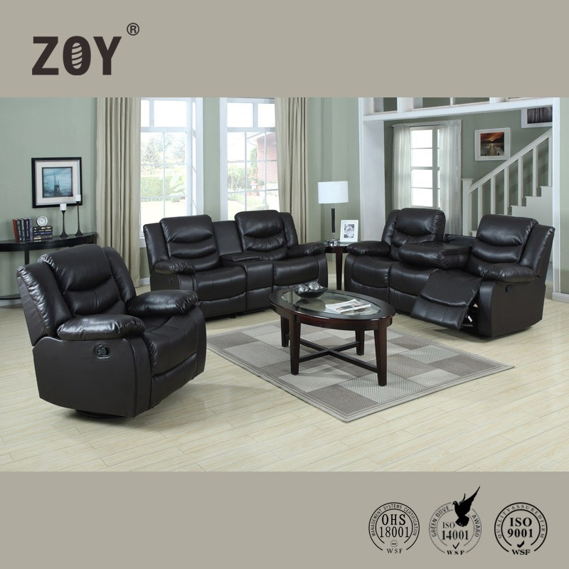 Zoy modern luxury leather sectional drawing room sofa sets & buy sofa from china96370